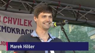 Demonstrace 5. 6. 2018 - Marek Hilšer