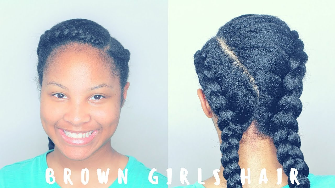 quick simple cornrows hairstyles for girls kids