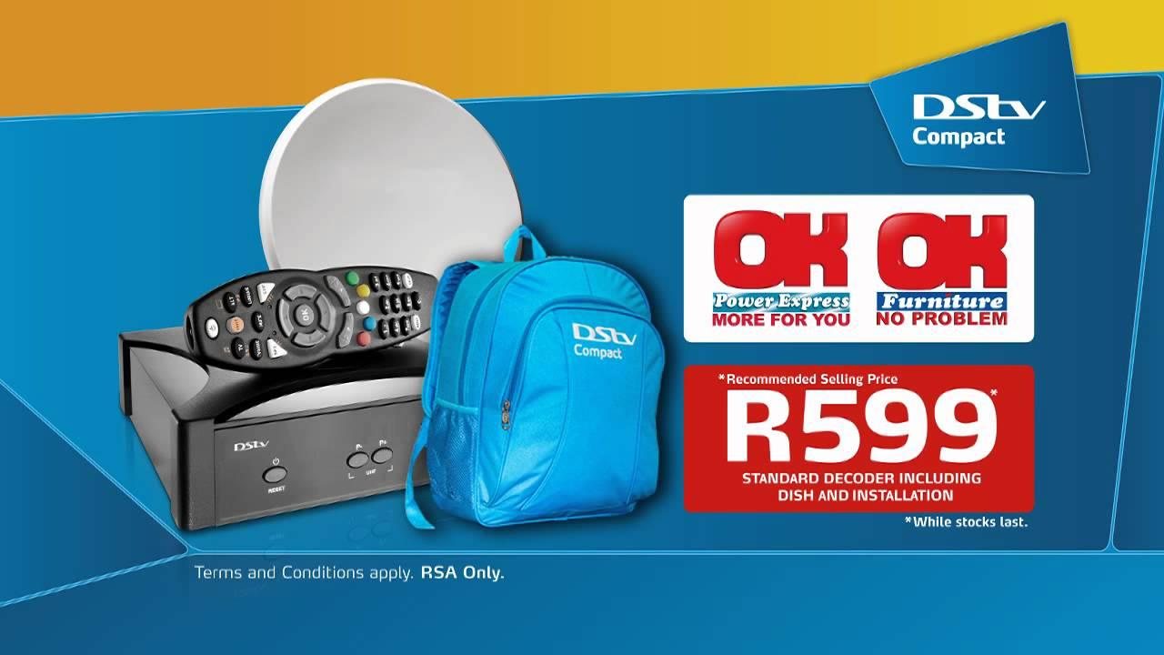 Dstv Compact School Bag Retail Ok Furniture Stores