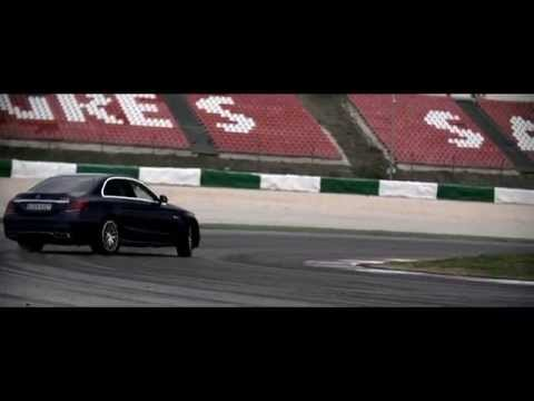 Chris Harris on Cars - Mercedes C63 AMG bi-turbo road & trac