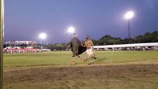 別府駐屯地、全中隊の創作踊り