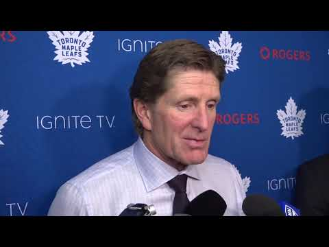 Maple Leafs Post-Game: Mike Babcock - October 7, 2018