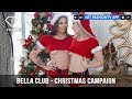 Janaina Santos and Emiliana Agacci Bella Club Sexy Christmas Campaign | FashionTV | FTV