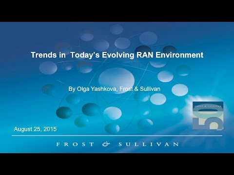 Webinar: Remote Radio Heads (RRH) in Today's Evolving RAN Environment