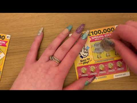 £1 Special Edition Scratch Cards, 100K Jackpot, Multiple Winners, UK National Lottery,  February 20