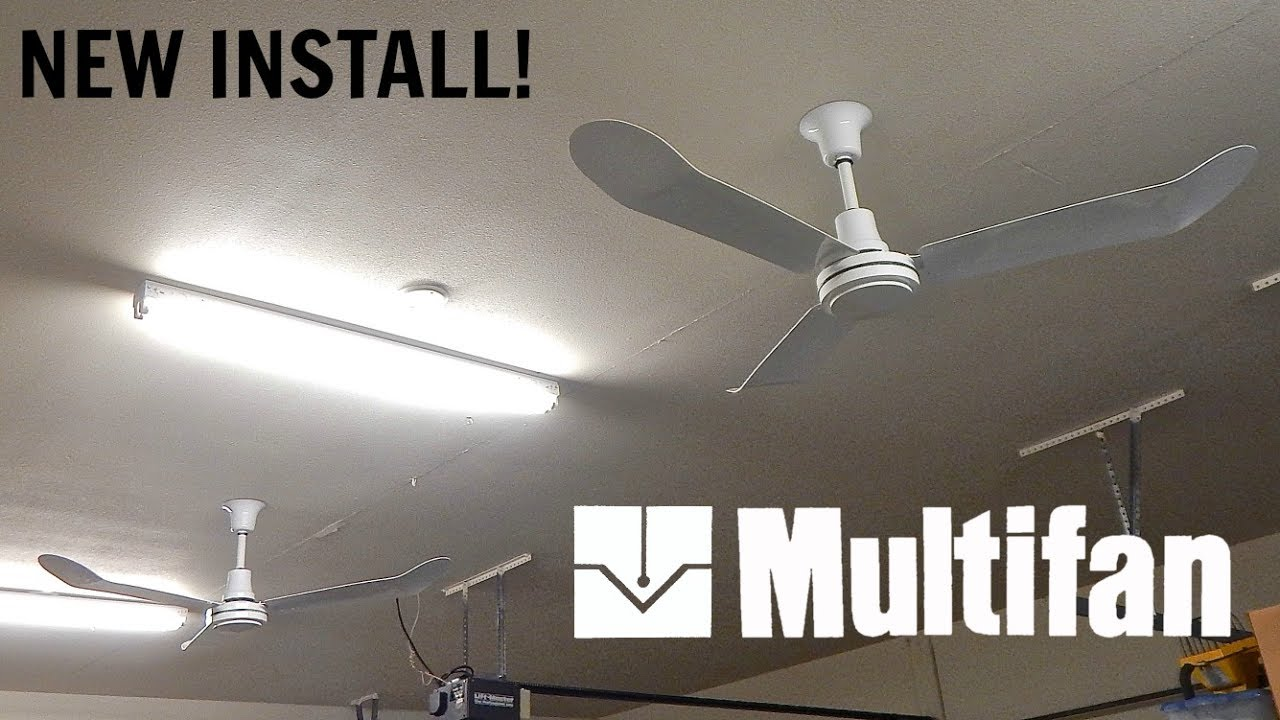 Vostermans 'Multifan' Industrial Ceiling Fans - Garage ...