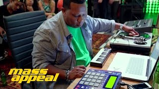 "Mannie Fresh - ""Rhythm Roulette"" Live From The Sprite Corner"