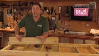 Porch Bed Swing Shop Project - Toolskool