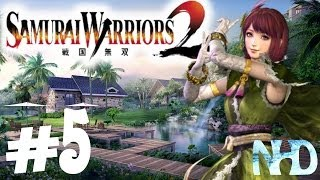Let's Play Samurai Warriors 2 Xtreme Legends Gracia Ch5 Flight from Home