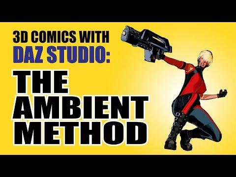 3D Comics With Daz Studio – The Ambient Method