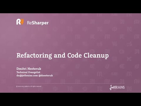Refactoring and Code Cleanup