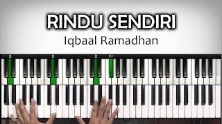 Download lagu Tutorial PianoRINDU SENDIRIIqbal Ramadhan OST Dilan 1990 Belajar Piano Keyboard MP3