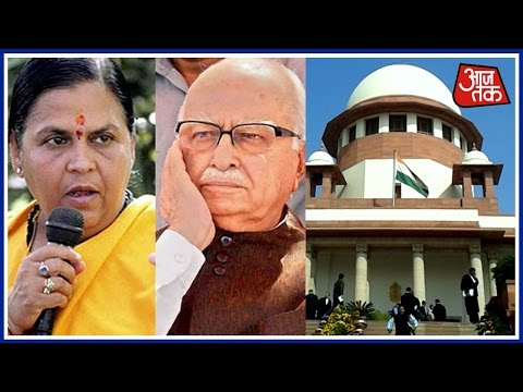 Supreme Court Restores Conspiracy Charges Against LK Advani, Uma Bharti And 8 Others