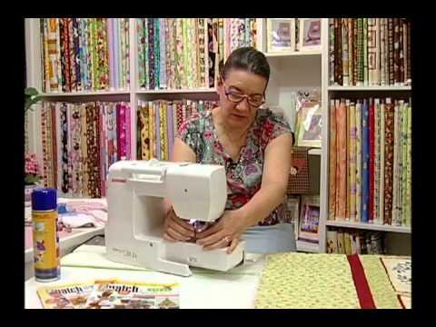 Arte E Manhas Da Tia Lili: Quiltar Uma Colcha Em Uma Máquina De Costura Doméstica