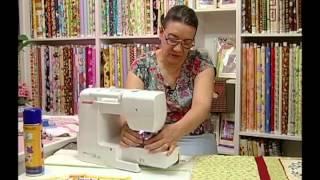 Tia Lili: quiltar uma colcha em uma máquina de costura doméstica