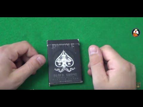 Обзор колоды карт Bicycle Black Ghost. Где купить карты для фокусов. Playing Card Deck Review