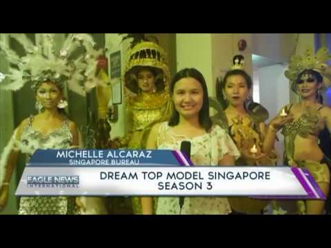 DREAM TOP MODEL SINGAPORE SEASON 3-  MICHELLE ALCARAZ/EBC Singapore