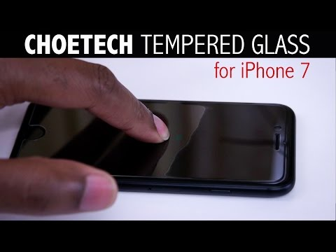 No Halo - iPhone 7 Tempered Glass Protector Review | Choetech