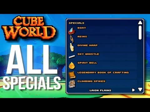 best prices best price affordable price ALL SPECIAL ITEMS IN CUBE WORLD 2019 (How to Get Them and What they Do)