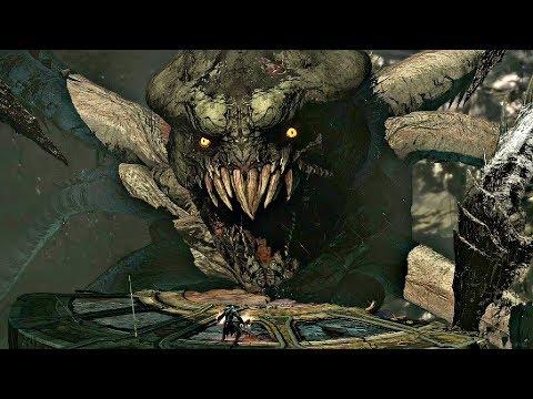 God Of War Ascension - Kraken Final Boss Fight & Ending