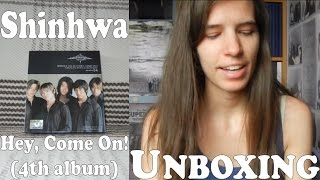 Unboxing - Shinhwa - Hey, Come On! - 4th album