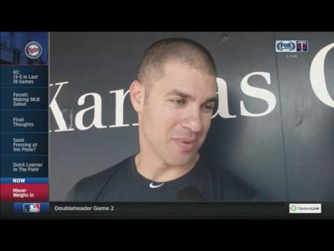 Joe Mauer on his friendship with Minnesota Wild forward Zach Parise