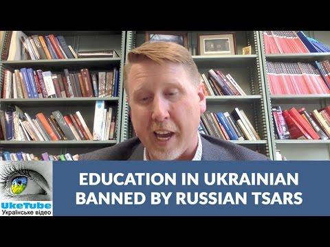 Ukrainian language education, Russian Tsars, and Pavlo Skoropadsky
