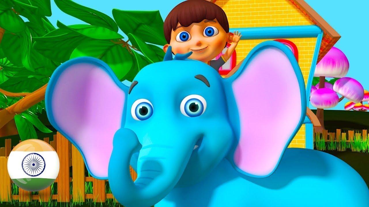 Download Hathi Raja | Hindi Balgeet | Nursery Rhymes in Hindi by Little Treehouse