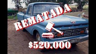 Rematan una Ford F100 en La Pampa por más de $500 mil