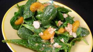 Spinach Salad With Mandarin Oranges Recipe