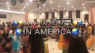 American Celebrates Navratri Dandiya Festival | Indians Life in USA Vlog