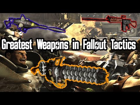 Fallout Fives | Greatest Weapons In Fallout Tactics
