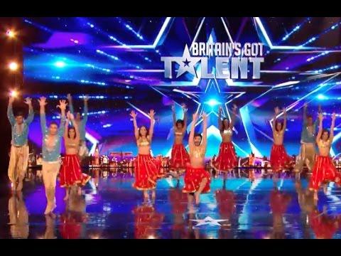 London School of Bollywood | Week 3 | Britain's Got Talent 2017