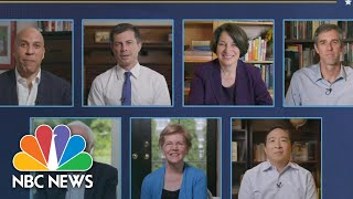 Former 2020 Presidential Candidates Share Laughs, Support For Joe Biden | NBC News
