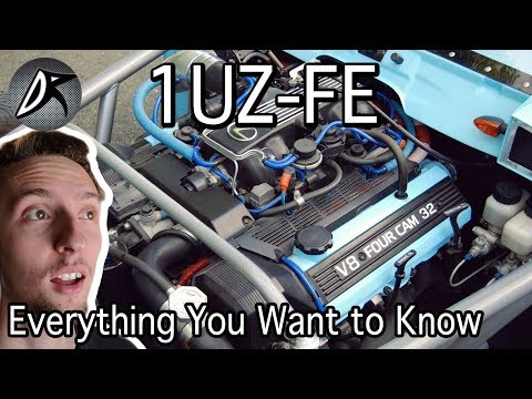 Toyota 1UZ-FE: Everything You Want to Know   Specs and More