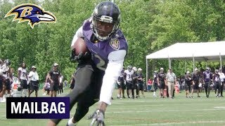 Will Jordan Lasley & Jaleel Scott Impact the Offense in 2019? | Ravens Mailbag