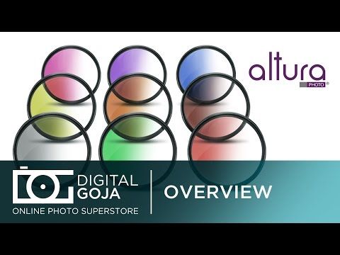 Photo Filters: Graduated Filters (Multi-Color) for NIKON CANON & Other DSLR Cameras | Overview Video