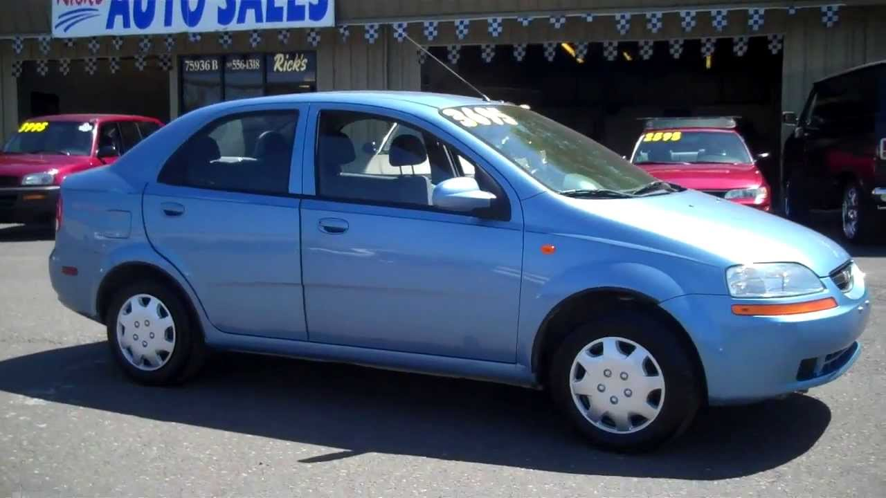 2004 Chevy Aveo 114k Sold