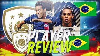 Fut18 | Ronaldinho  91  - Icons Review
