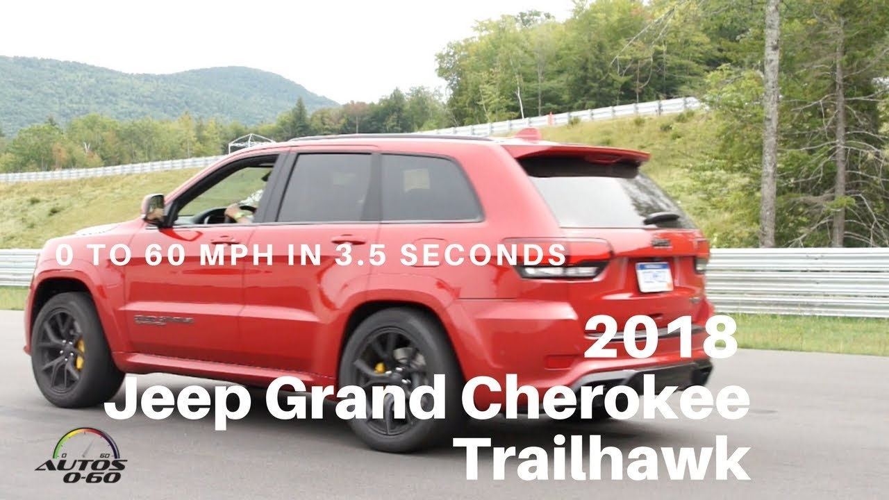 2018 Jeep Grand Cherokee Trackhawk Launch Control System Youtube
