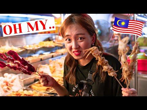Challenging Street Food Tour || Kuala Lumpur, Malaysia🇲🇾