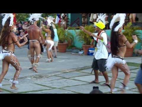 #RapaNui (#EasterIsland) traditional dance at #FestPac2016 #Guam