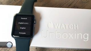 Unboxing: Apple Watch Sport - 42mm Spacegrau [Deutsch]
