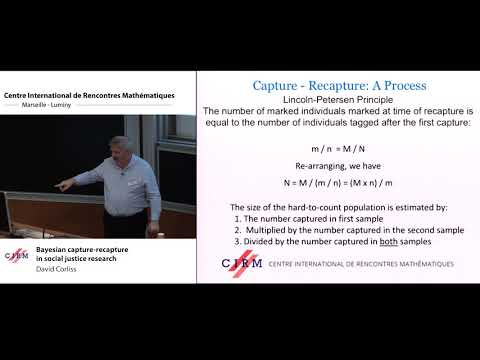 David Corliss: Bayesian capture-recapture in social justice research