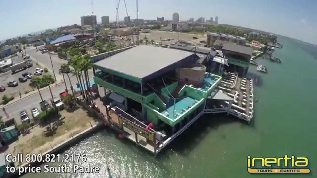south padre island louie s backyard aerial tour youtube