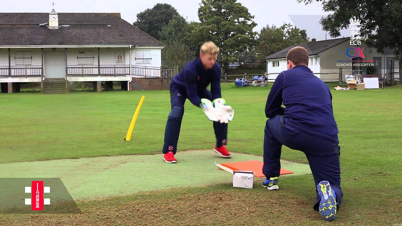 Wicket Keeping drills with Sam Billings - YouTube