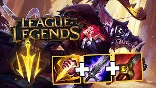 Ганки на втором уровне (Лесной Твич) // League of Legends #9