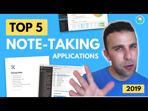 Top 5 Note-Taking Apps of 2019