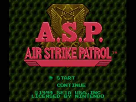 A.S.P. Air Strike Patrol SNES Music - Title