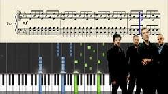 Coldplay - Clocks - Piano Tutorial + Sheets